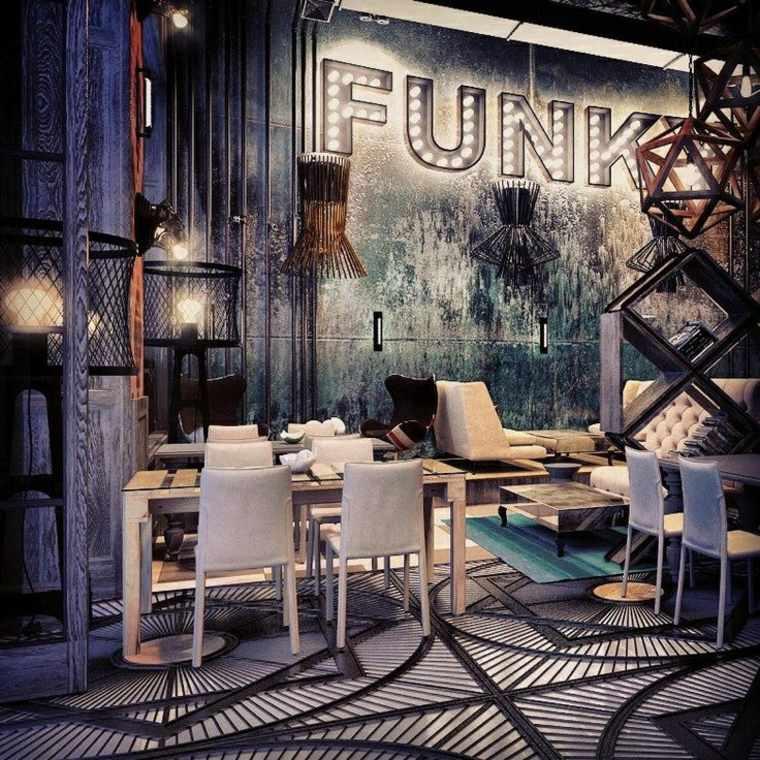 diseño interior grunge