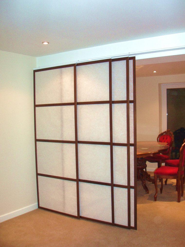Panel japones moderno y elegante para decorar el interior for Panel japones moderno