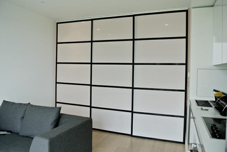 Panel japones moderno y elegante para decorar el interior - Paneles japoneses cortos ...