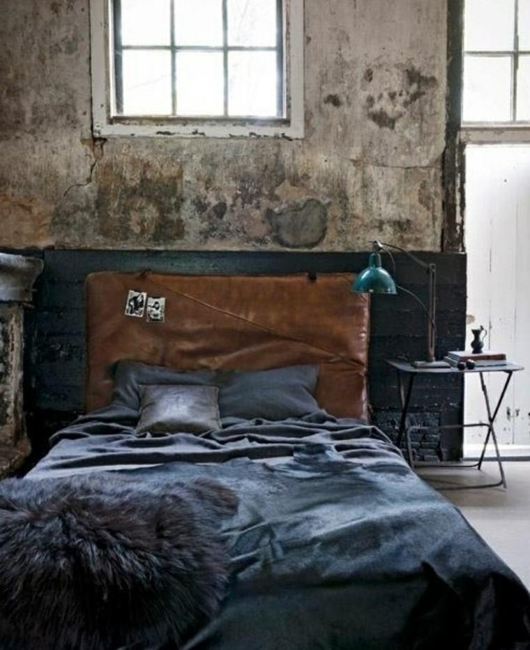 Estilo grunge para decorar interiores sencillez y for Como alisar paredes irregulares