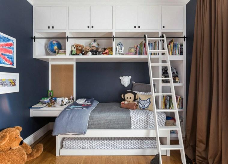 paredes-azules-muebles-blancos-estilo-moderno
