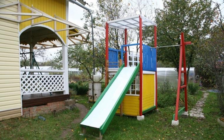 parque infantil en el jard n ideas de diy muy divertidas