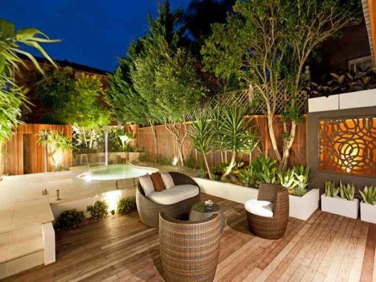 terraza moderna