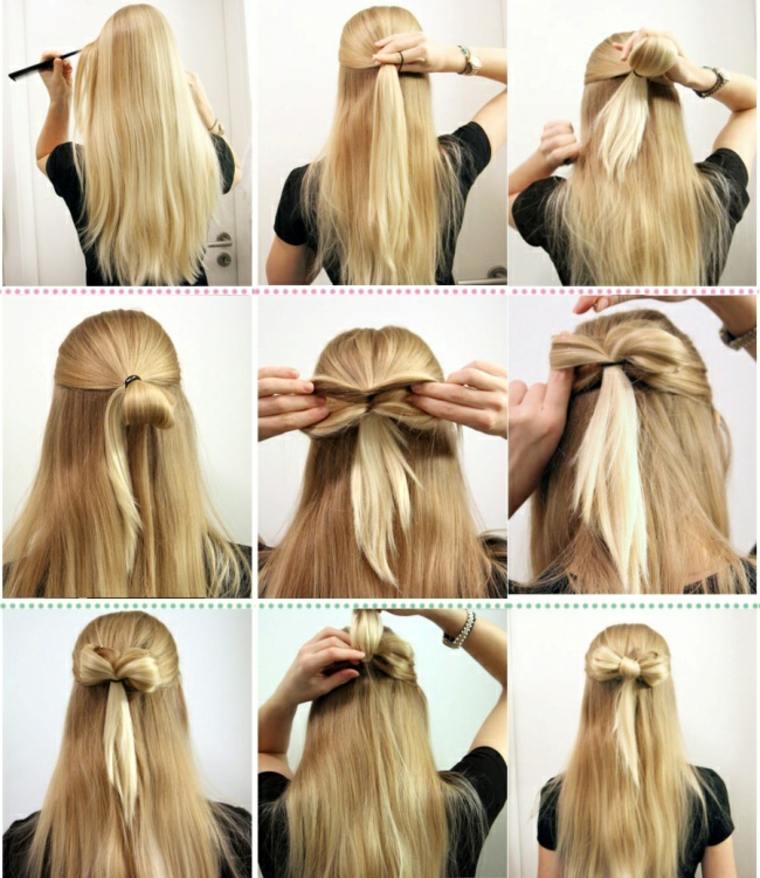 Peinados f ciles paso a paso ideas sencillas y r pidas - Como hacer peinados faciles ...