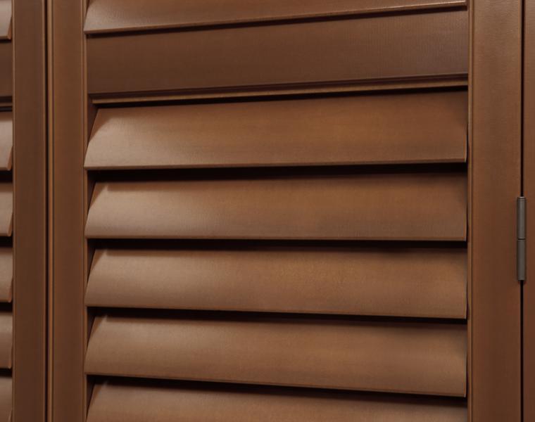 Persianas venecianas de madera interesantes soluciones for Ganchos para cortinas de madera
