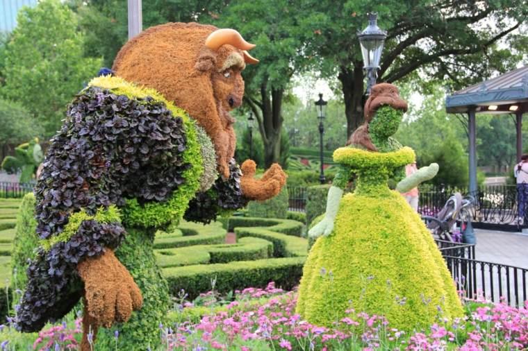 Ideas para el jard n enredaderas y estructuras para for Ideas para hacer un jardin pequeno