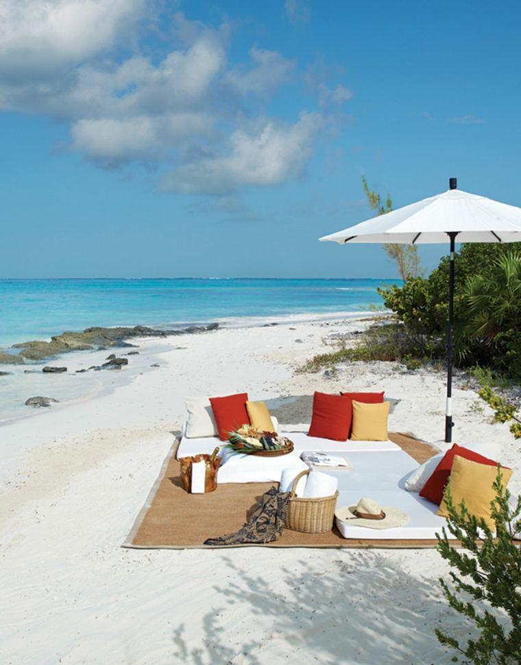 cómo hacer un picnic-ideas-consejos-opciones-romantico-playa