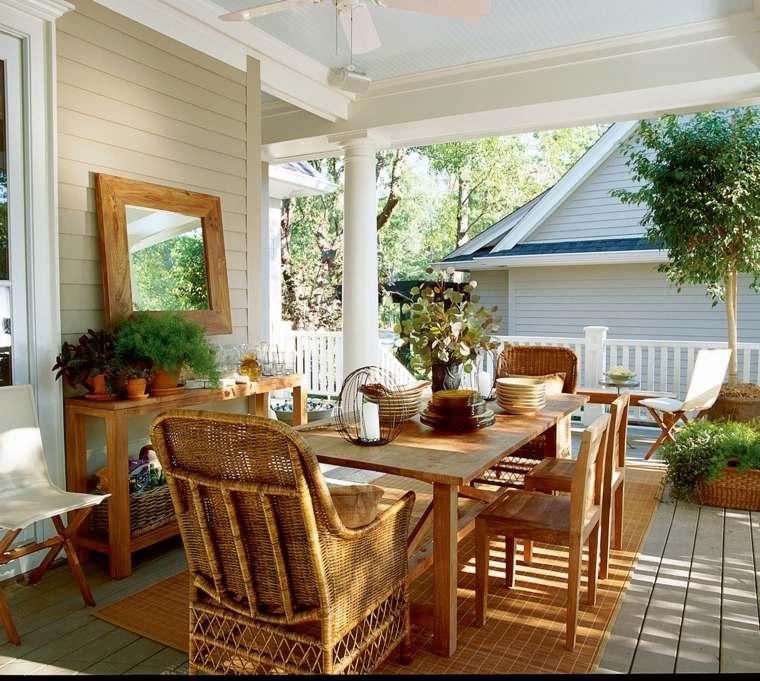 Small Covered Front Porch Designs: Porches De Obra Modernos Y Terrazas Cubiertas Con Estilo
