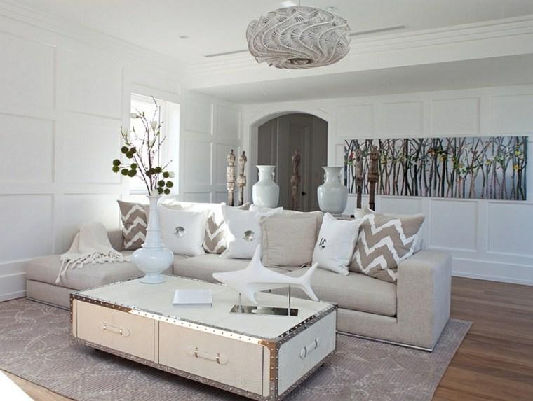 salón beige