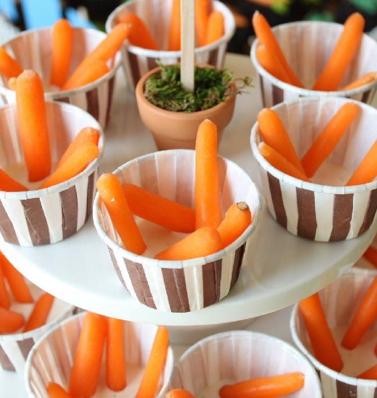 recetas-de-comida-cumpleanos-infantil-salsa-ranchera-baby-zanahorias