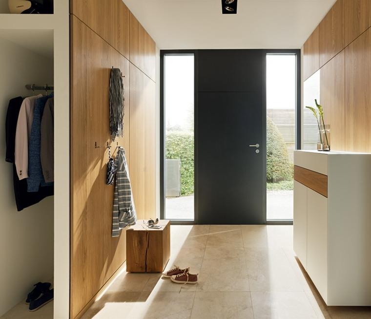 recibidores modernos armarios-empotrados
