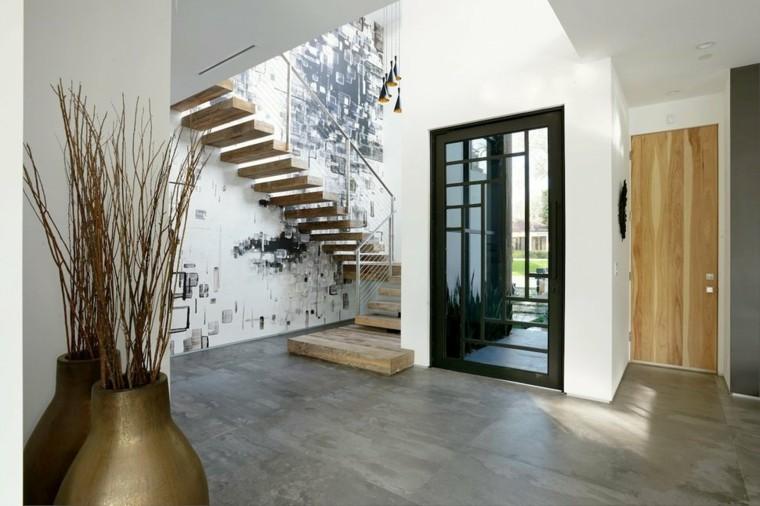 Recibidores modernos y las mejores ideas para decorarlos - Fotos de recibidores de pisos ...