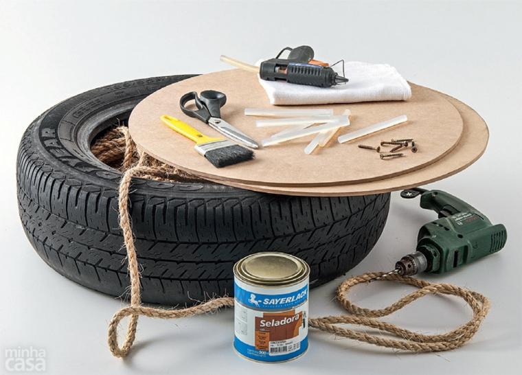 reciclar neumaticos hacer-muebles