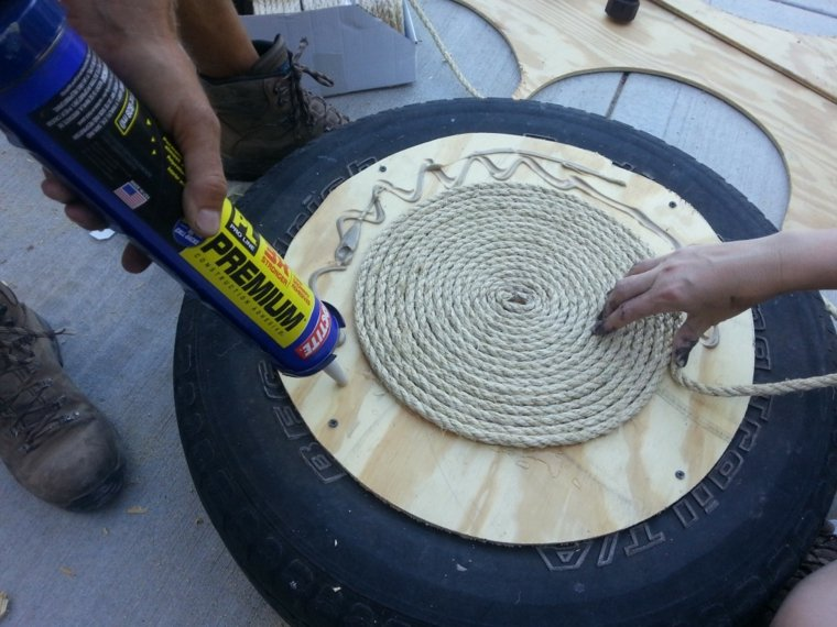 reciclar neumaticos ruedas-coche