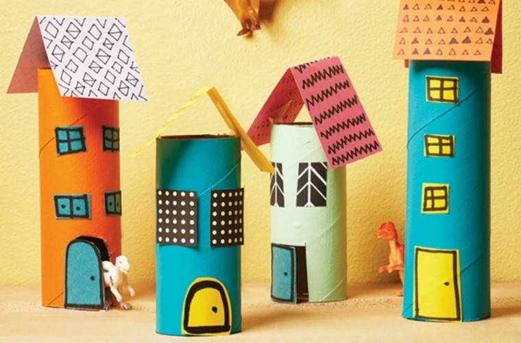 Manualidades con rollo de papel para hacer en casa - Manualidades rollos de papel higienico ...
