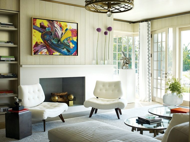 salon-casa-chimenea-cuadro-llamativo-original