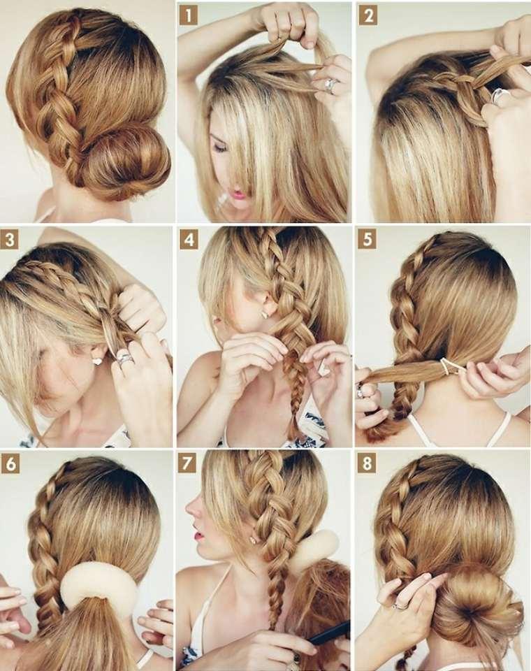 moo rosca peinados - Peinados Sencillos