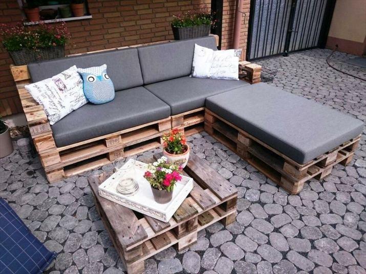 Sofa Con Palets Una Maravilla De Dise 241 O Funcional Y C 243 Moda