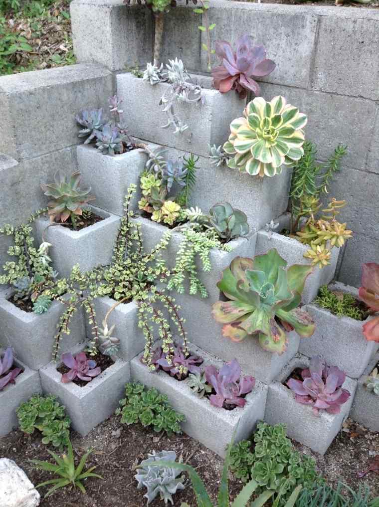 suculentas ideas bloque-jardines-interiores