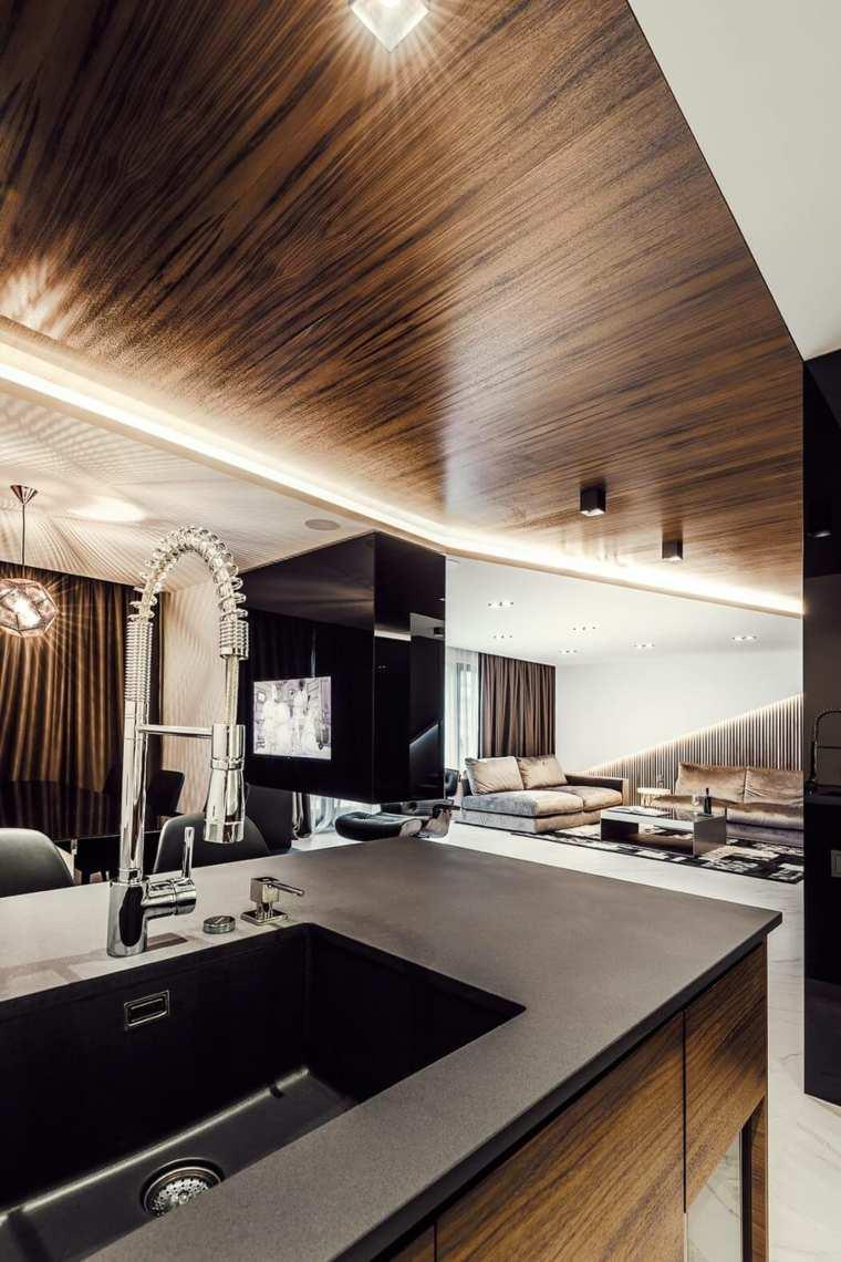 apartamento contemporaneo cocinas-encantadoras
