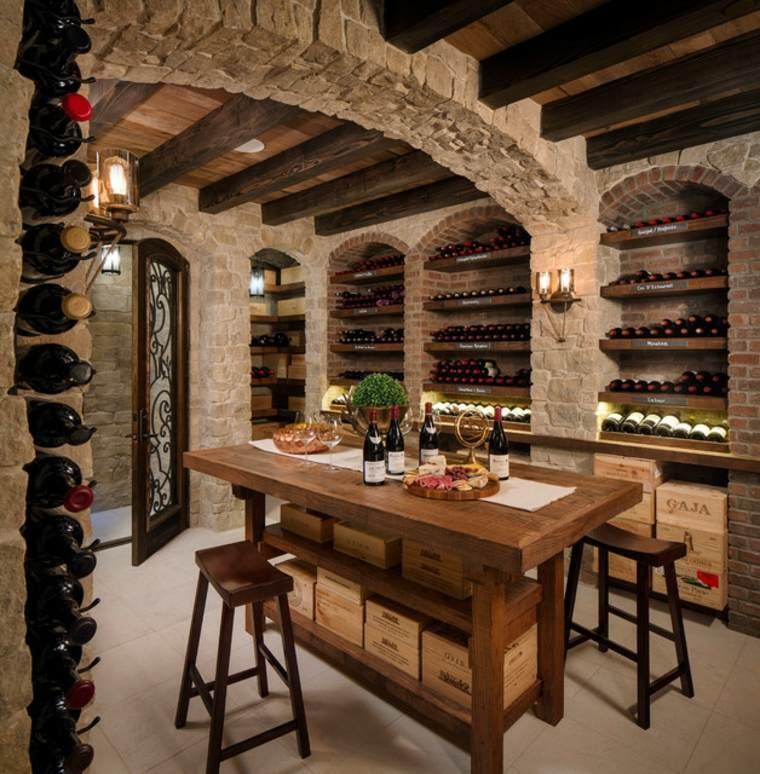 sala de vinos