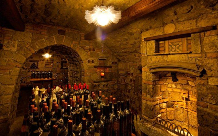 diseño sala de vinos