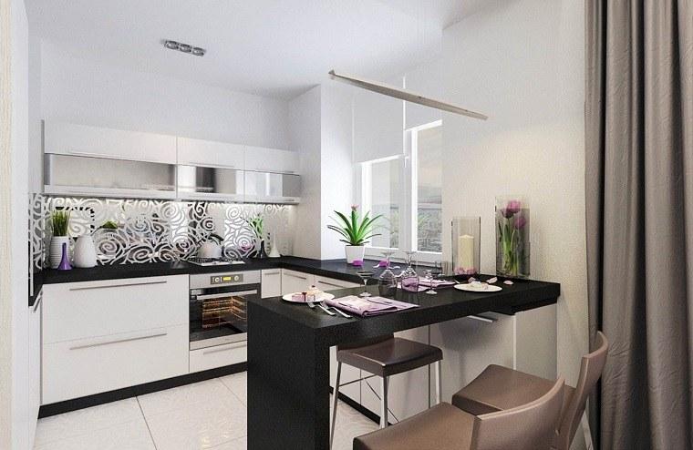 cocina-barra-diseno-muebles-color-negro