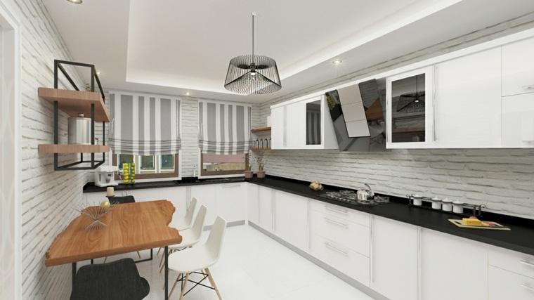 Revestimiento cocina e ideas para las paredes y salpicaderos for Revestimientos para paredes interiores cocinas