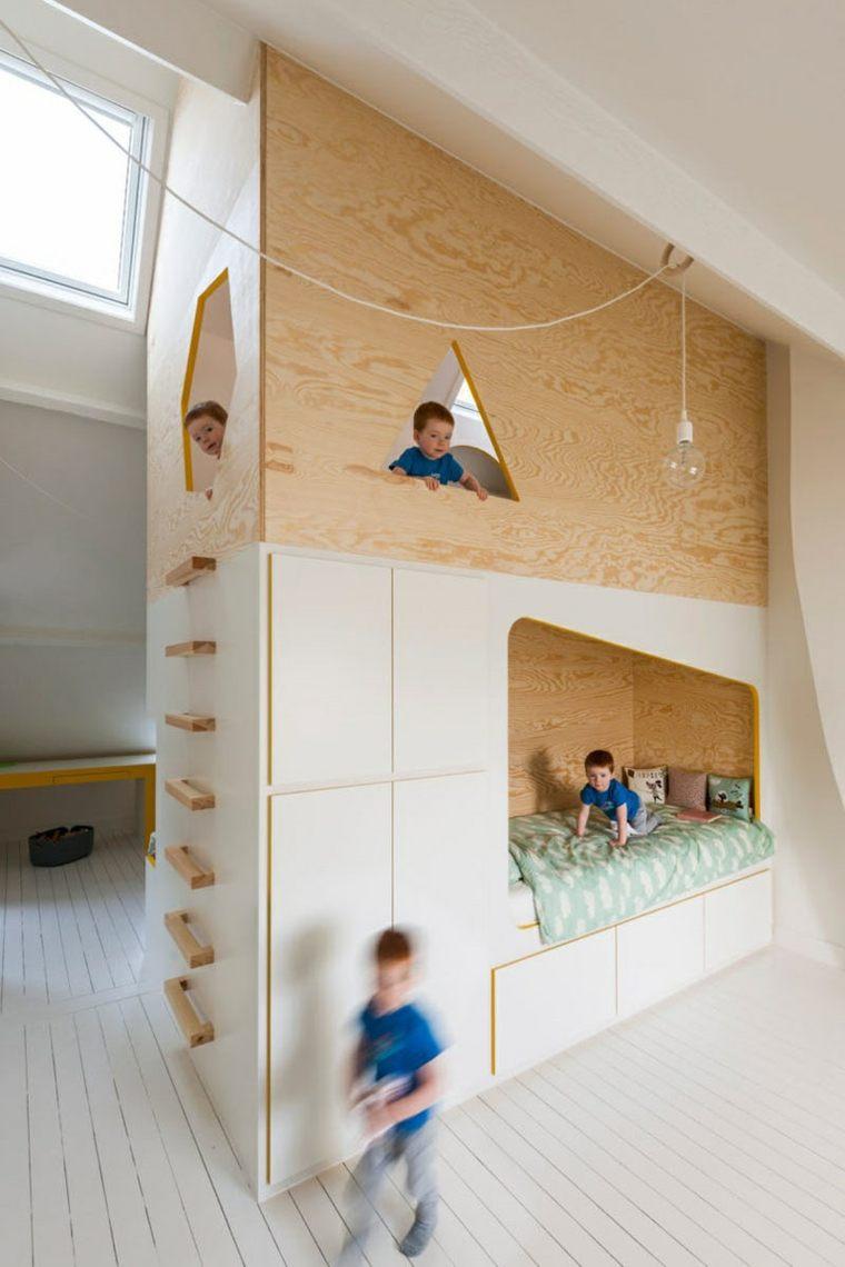 dormitorios infantiles paredes-decoraciones