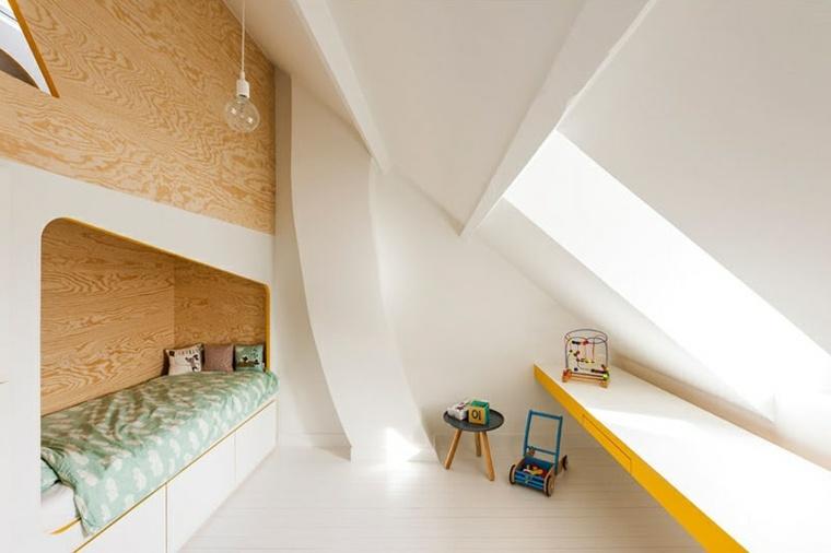 dormitorios infantiles segmentos-paredes
