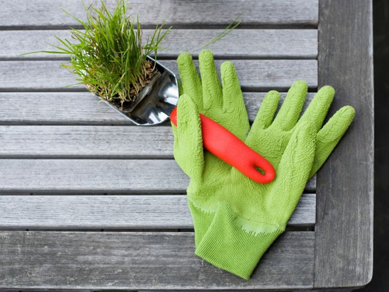 herramienta jardineria limpiar
