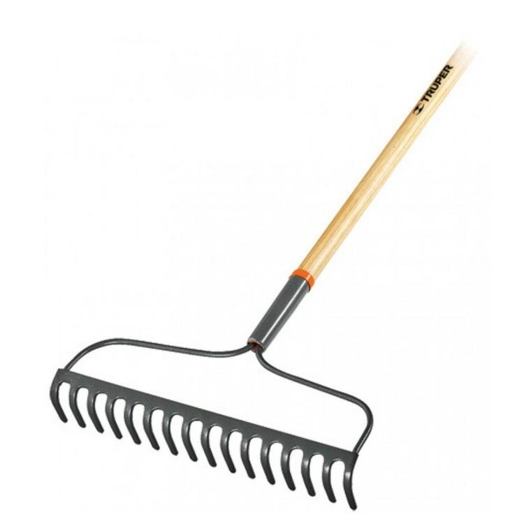 herramientas jardineria rastrillo