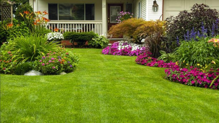 ideas para arreglar un jardin-casa-veranda-diseno