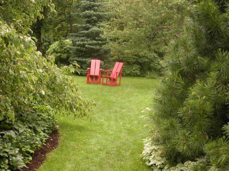 ideas para arreglar un jardín-espacios-tranquilos-plantas