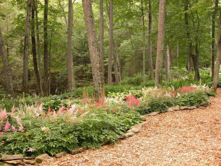 ideas para arreglar un jardín-plantas-suelo-estilo-moderno