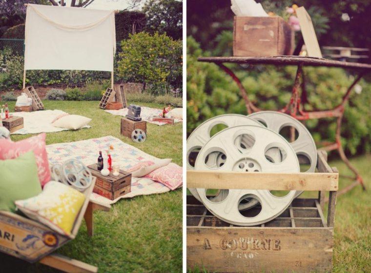cine jardín