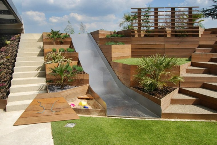 estructuras jardín