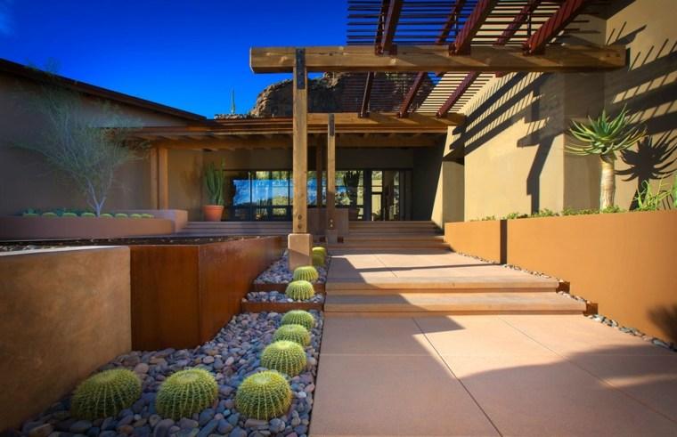 jardin de cactus minimalista-fresco