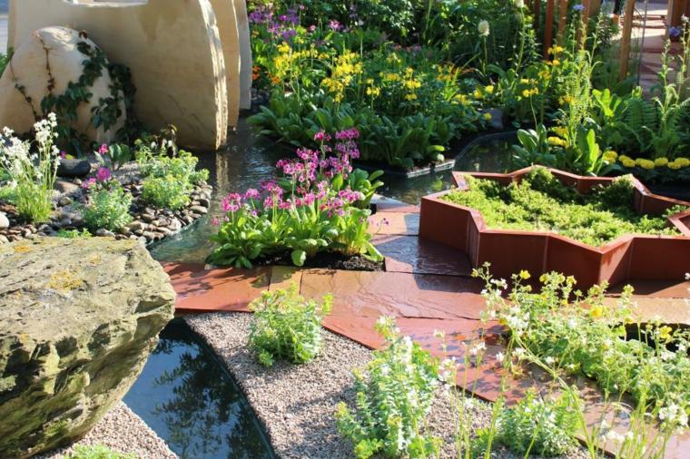 Jardines bonitos llenos de encanto y las claves para crearlos for Jardines bonitos y sencillos