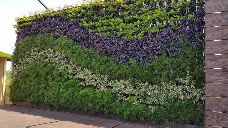 pared de jardín