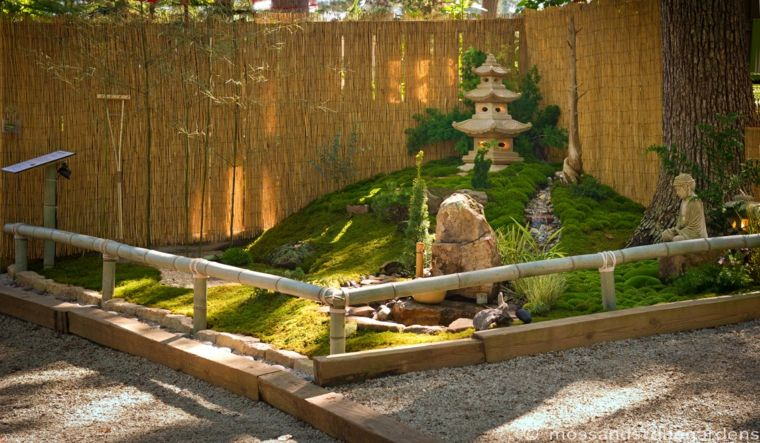 bonitos jardines zen