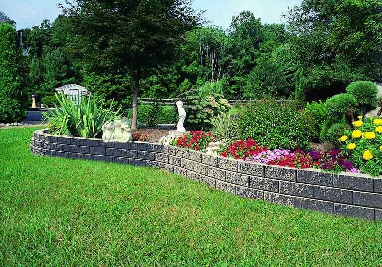 muros jardin diseno estilo