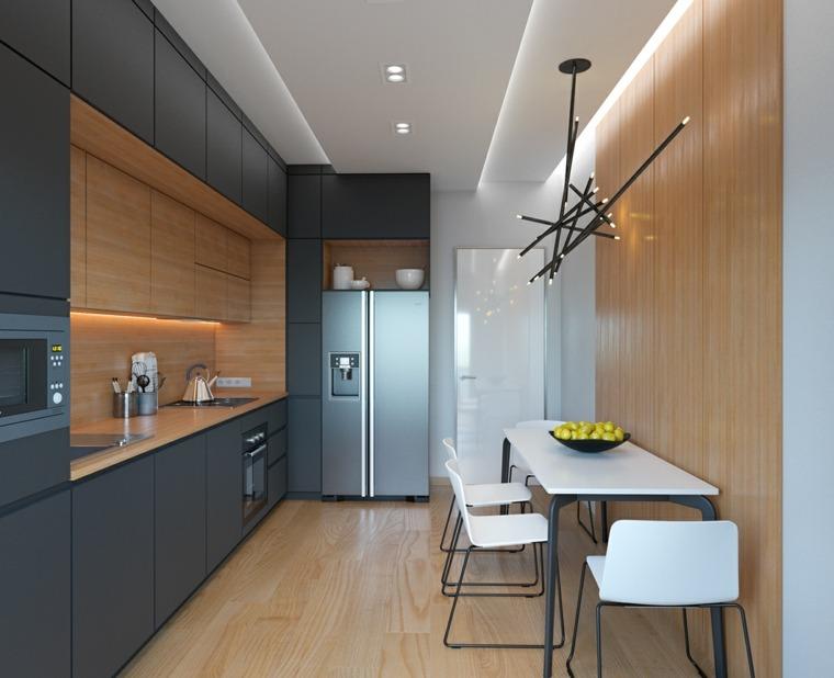 Hermoso revestimiento cocina fotos revestimientos para - Salpicaderos de cocina ...
