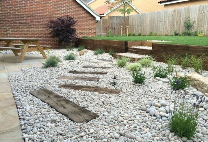 Piedras para jardin todo lo que debes saber antes de usarlas - Disenos de jardines con piedras blancas ...