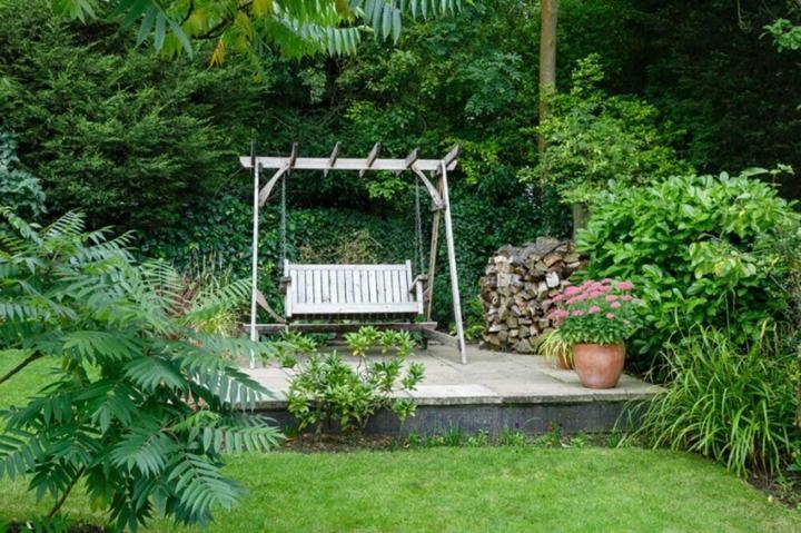 plataforma madera acero metales ideas