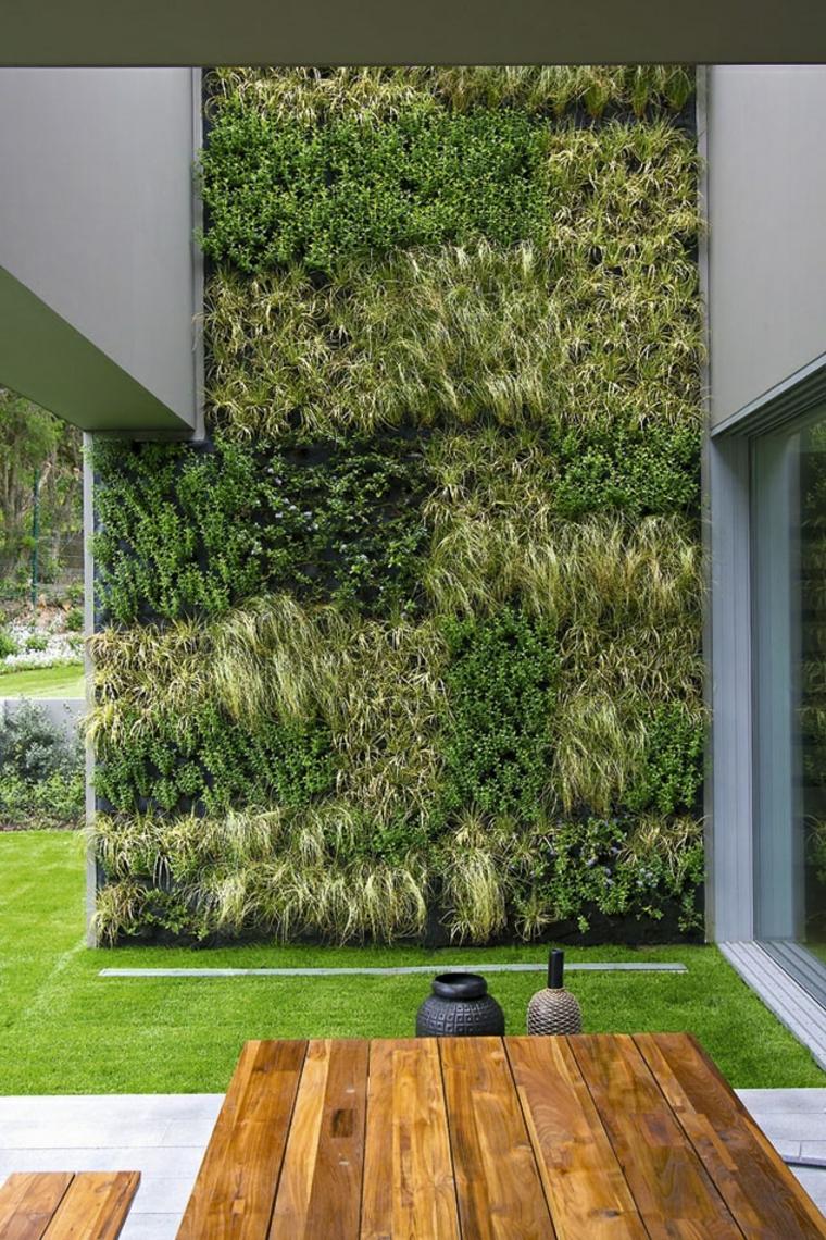 estupendo jardín vertical