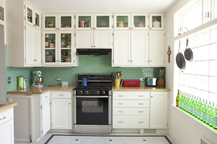 Revestimiento cocina e ideas para las paredes y salpicaderos -