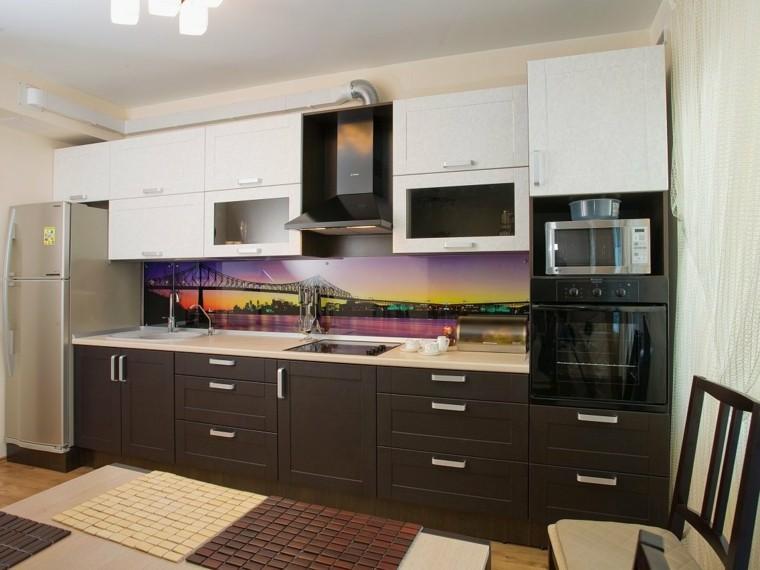 Revestimiento cocina e ideas para las paredes y salpicaderos - Revestimientos paredes cocina ...