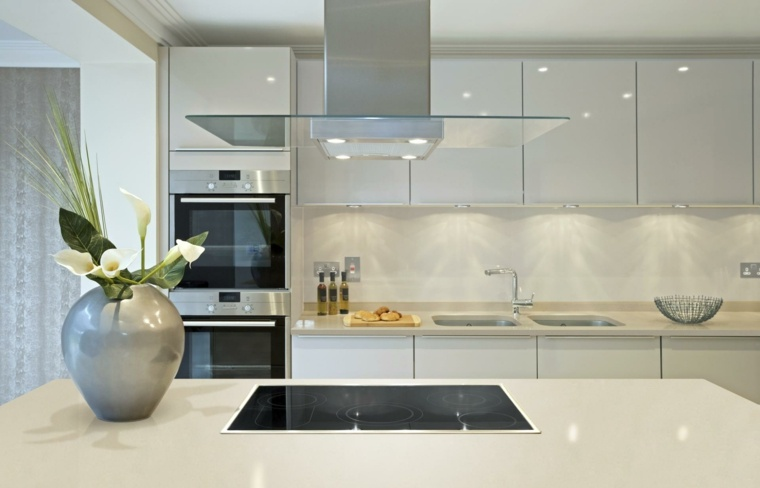 Revestimiento Cocina E Ideas Para Las Paredes Y Salpicaderos - Revestimientos-para-cocinas-modernas