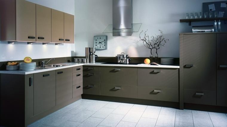 revestimiento cocina-paredes-pintura-diseno-marron